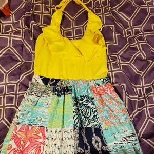 Lily Pulitzer dress size 4 halter